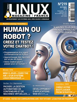 GNU/Linux Magazine 219