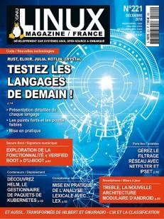 GNU/Linux Magazine 221