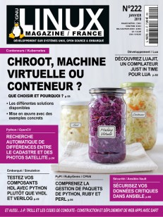 GNU/Linux Magazine 222