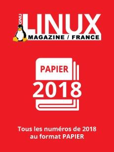 PACK PAPIER LINUX MAGAZINE 2018