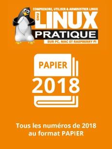 PACK PAPIER LINUX PRATIQUE 2018