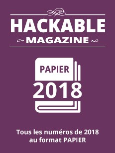 PACK PAPIER HACKABLE 2018