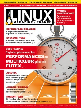 GNU/Linux Magazine 173