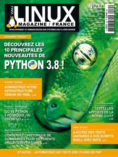 GNU/Linux Magazine 232