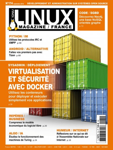 GNU/Linux Magazine 174