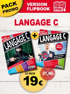 PACK : Langage C version Flipbook