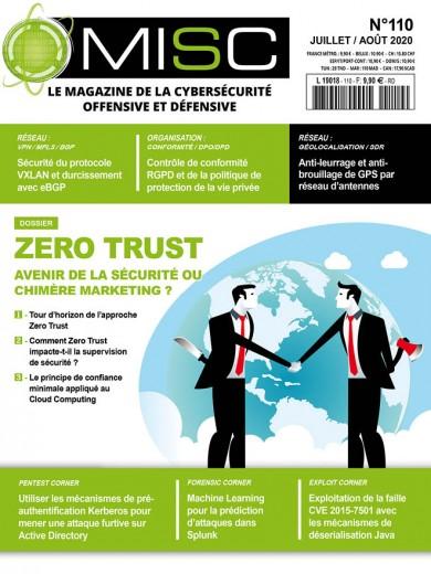 Zero Trust: avenir de la sécurité ou chimère marketing?Tour d'horizon de l'approche Zero Trust Comment Zero Trust impacte-t-il la supervision de la sécurité? Le principe de confiance minimale appliqué au Cloud Computing