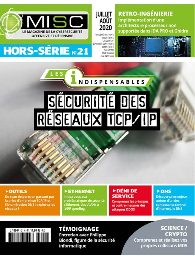 Sécurité des réseaux TCP/IP