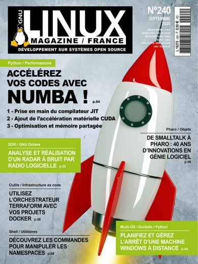 GNU/Linux Magazine 240