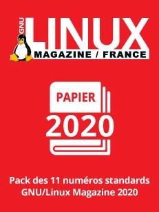 PACK PAPIER LINUX MAGAZINE 2020