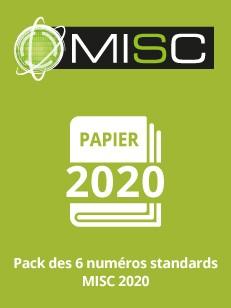 PACK PAPIER MISC 2020