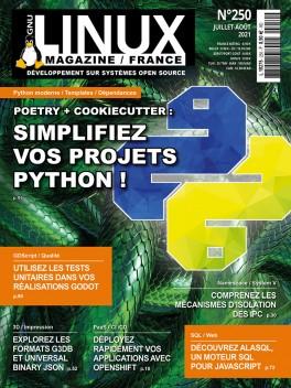 GNU/Linux Magazine 250