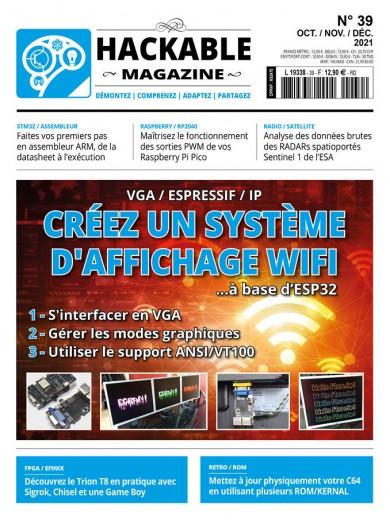 VGA / Espressif / IP : Créez un système d'affichage WiFi ...à base d'ESP32 S'interfacer en VGA Gérer les modes graphiques Utiliser le support ANSI/VT100