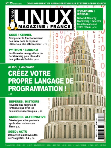 GNU/Linux Magazine 175