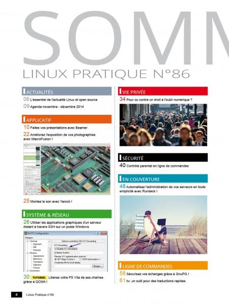 Linux Pratique 86 - LES EDITIONS DIAMOND