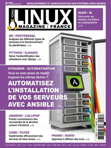 GNU/Linux Magazine 178