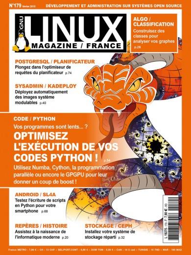 GNU/Linux Magazine 179