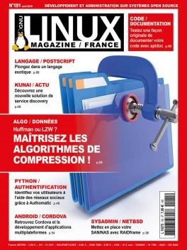 GNU/Linux Magazine 181