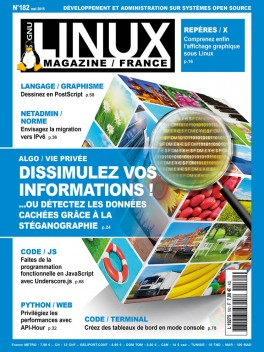 GNU/Linux Magazine 182