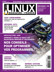 GNU/Linux Magazine 183
