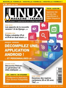 GNU/Linux Magazine 184