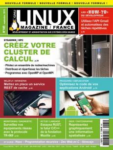 GNU/Linux Magazine 185