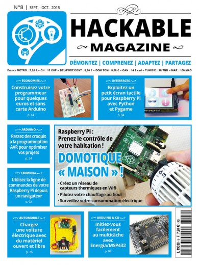 Hackable Magazine 8