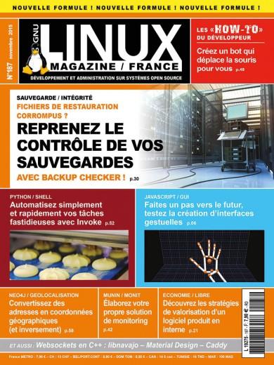 GNU/Linux Magazine 187