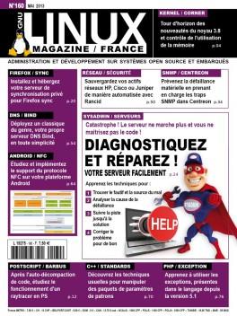 GNU/Linux Magazine 160