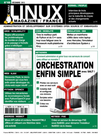 GNU/Linux Magazine 166