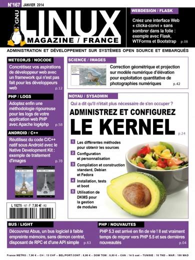 GNU/Linux Magazine 167