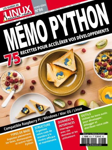 Mémo Python 75 recettes pour accélérer vos développements