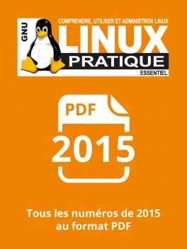 PACK ANNUEL PDF 2015 LINUX PRATIQUE