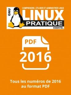 PACK ANNUEL PDF 2016 LINUX PRATIQUE