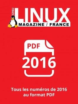 PACK ANNUEL PDF 2016 GNU/LINUX MAGAZINE