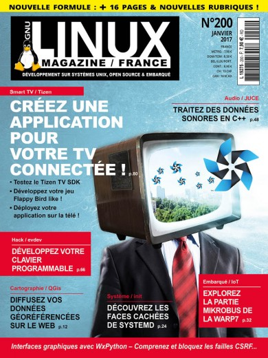 Gnu/Linux Magazine 200