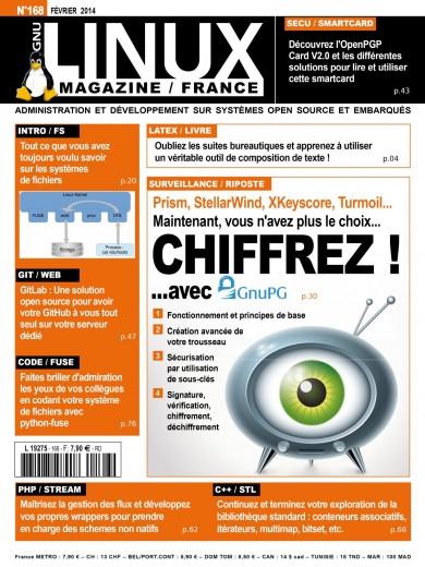 GNU/Linux Magazine 168
