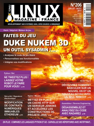 Gnu/Linux Magazine 206