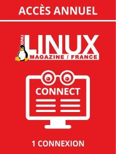 Accès annuel à la base documentaire de GNU/Linux Magazine + ses Hors-Séries - 1 connexion