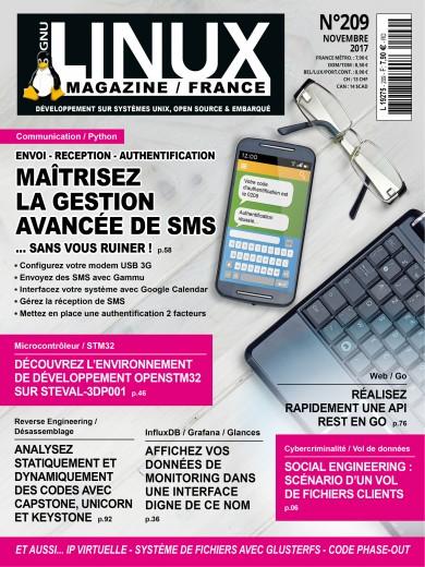 Gnu/Linux Magazine 209