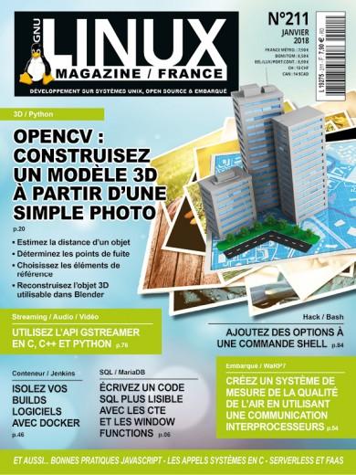 GNU/Linux Magazine 211