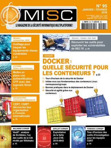 Docker :Quelle sécurité pour les conteneurs ? Tour d'horizon de la sécurité de Docker Initiez-vous aux fondamentaux des conteneurs Linux: namespaces/cgroups Bonnes pratiques dans le déploiement de Docker Sécurité et agilité grâce aux conteneurs