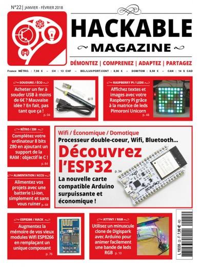 Wifi / Économique / Domotique Processeur double-coeur, Wifi, Bluetooth... Découvrez l'ESP32 La nouvelle carte compatible Arduino surpuissante et économique !
