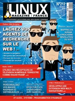 GNU/Linux Magazine 212