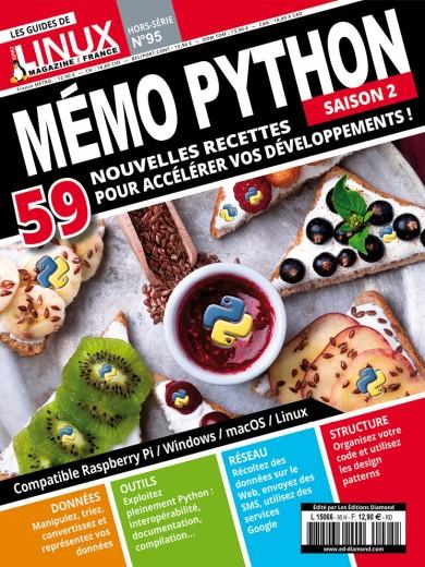 Mémo Python - Saison 2 59 nouvelles recettes pour accélérer vos développements !