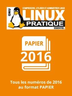 PACK PAPIER LINUX PRATIQUE 2016