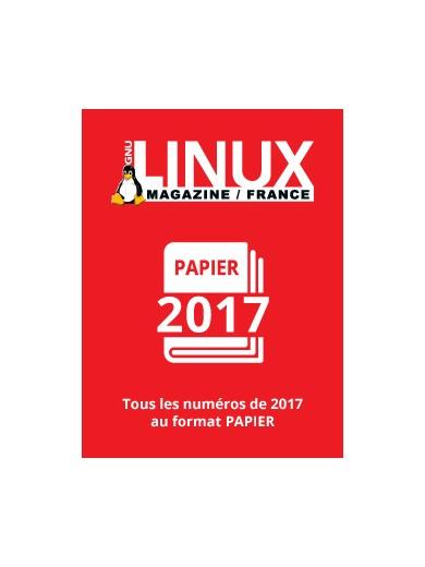 PACK PAPIER LINUX MAGAZINE 2017