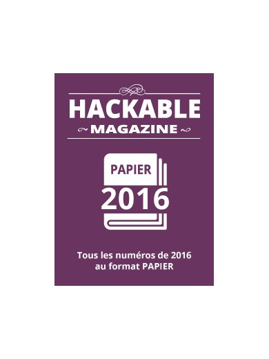 PACK PAPIER HACKABLE 2016