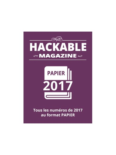 PACK PAPIER HACKABLE 2017