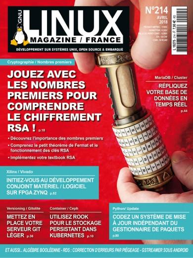 GNU/Linux Magazine 214